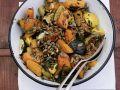 Roasted Pumpkin with Pumpkin Seeds recipe