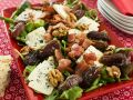 Salad with Blue Cheese, Walnuts and Dried Dates recipe