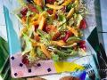 Salad with Exotic Fruits recipe