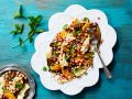 Salad with Halloumi, Chickpeas and Mint recipe