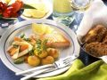 Salmon with Potatoes and Vegetables recipe