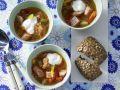 Sauerkraut Soup recipe