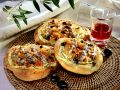 Savory Bread with Tomato, Olives and Anchovy recipe
