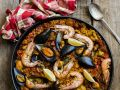 Seafood with Spanish Rice recipe