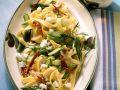 Sheep's Cheese and Asparagus Tagliatelle recipe