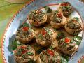 Shrimp and Meat Stuffed Portobello Mushrooms recipe