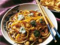 Shrimp with Chinese Egg Noodles recipe
