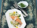 Smoked Trout with Apple Salad recipe