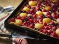 Sour Cream Cake with Apricots, Cherries and Currants recipe