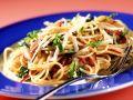 Spaghetti with Arugula and Cheese recipe