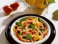 Spaghetti with Bell Pepper Sauce recipe