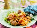 Spaghetti with Tuna Balls recipe