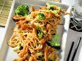 Stir-Fried Pork with Vegetables and Noodles recipe