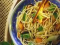 Stir-Fried Vegetables with Chinese Egg Noodles recipe