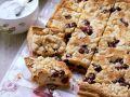 Stone Fruit and Nut Tray Bake recipe