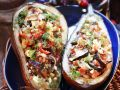 Stuffed Eggplant Halves recipe