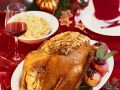 Stuffed Roast Goose with Apples recipe