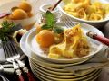 Sweet Pasta with Apricot Compote recipe