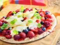 Sweet Pizza with Mixed Berries recipe