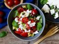Tomato Zucchini Salad with Feta recipe