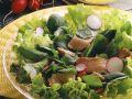 Mixed Green Salad with Tuna recipe