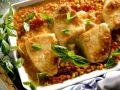 Turkey, Corn and Tomato Gratin recipe