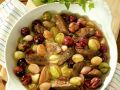 Turkey Livers with Grapes and Shallots recipe