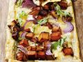 Veggie and Cheese Pastry Tart recipe