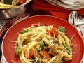 Vegetables and Macaroni with Beef recipe