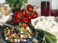 Vegetables with Goat Cheese recipe