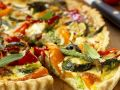 Baked Quiche with Mixed Vegetables recipe