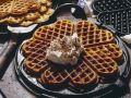 Waffles with Whipped Cream recipe