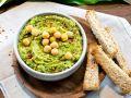 Wild Garlic Hummus recipe