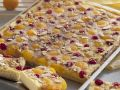 Yeast Cake with Apricots and Cherries recipe