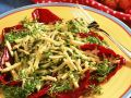 Zucchini Cheese Salad with Watercress recipe