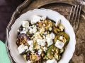 Zucchini with Couscous and Feta Cheese recipe