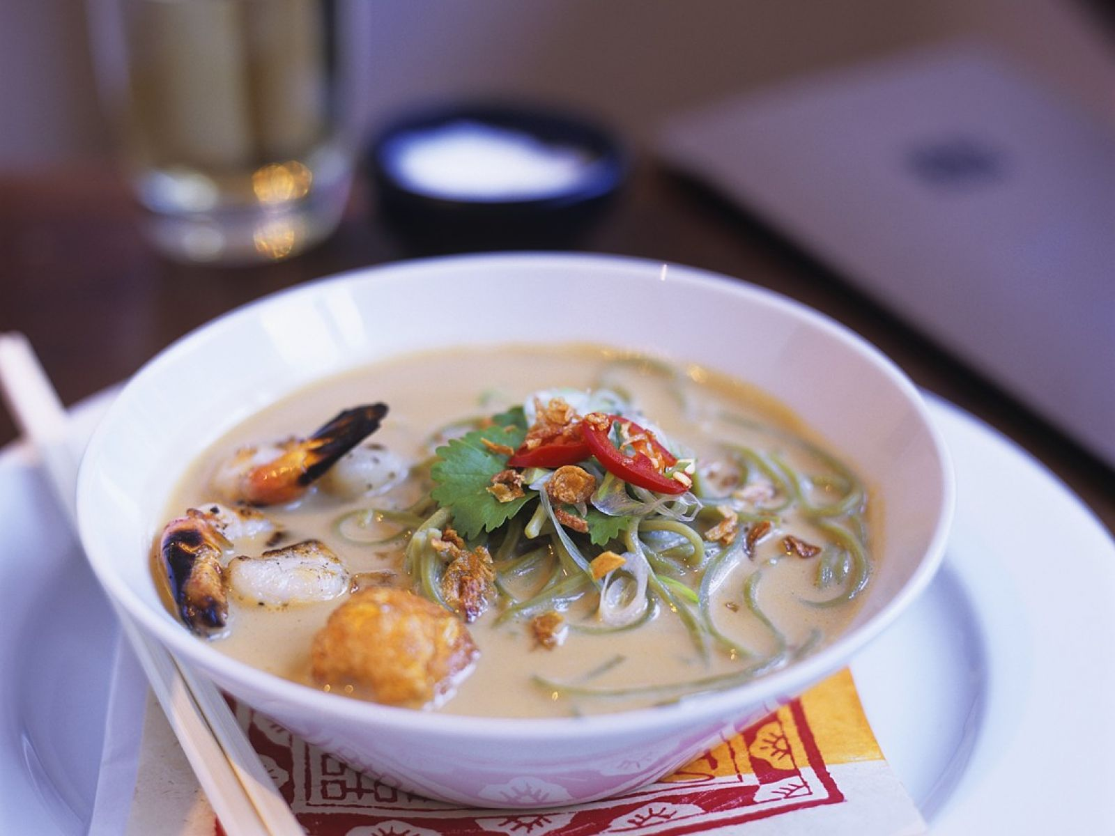 Coconut Fish Soup With Noodles Recipe Eat Smarter Usa