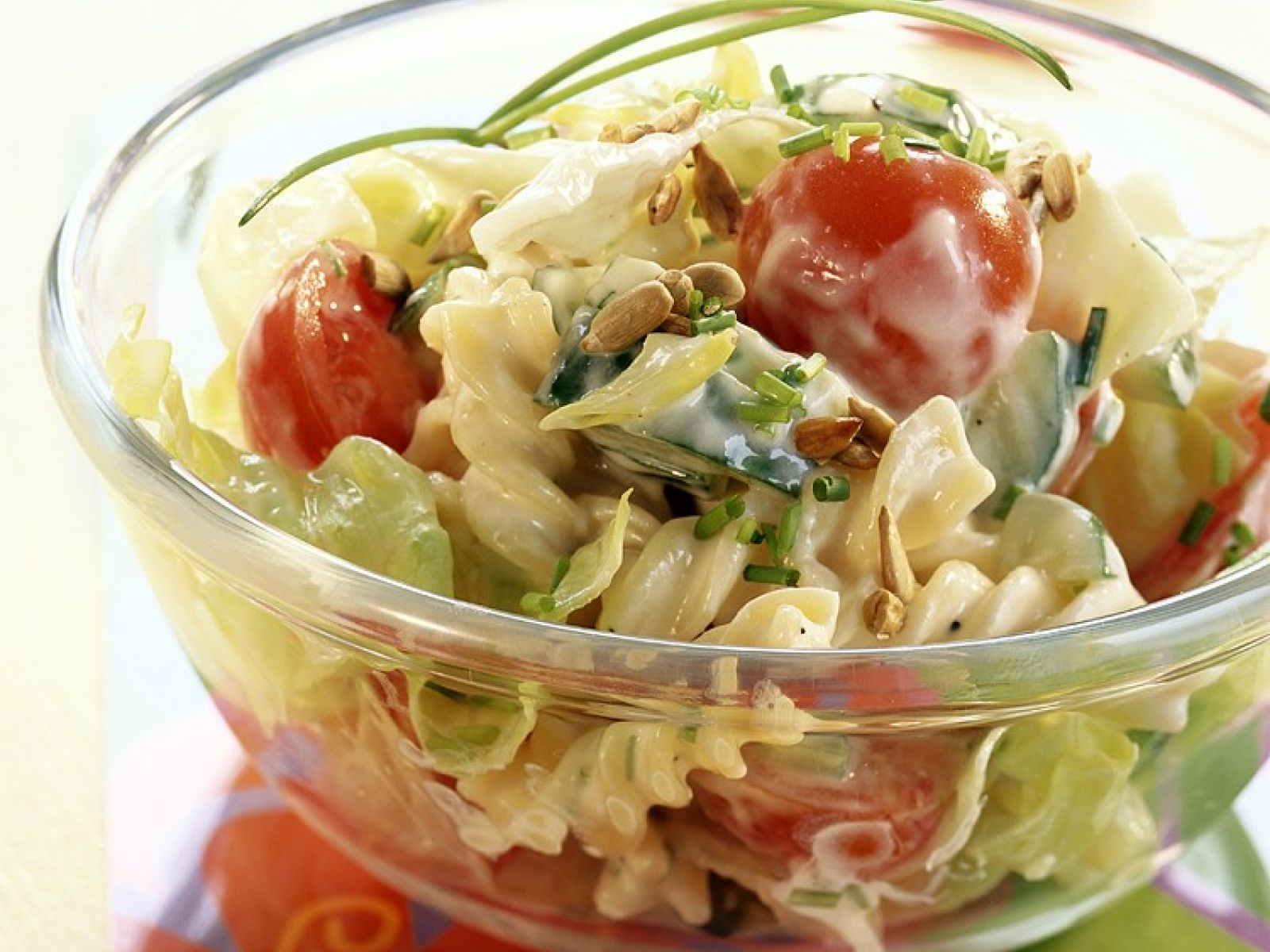 Pasta Salad Recipe Yogurt