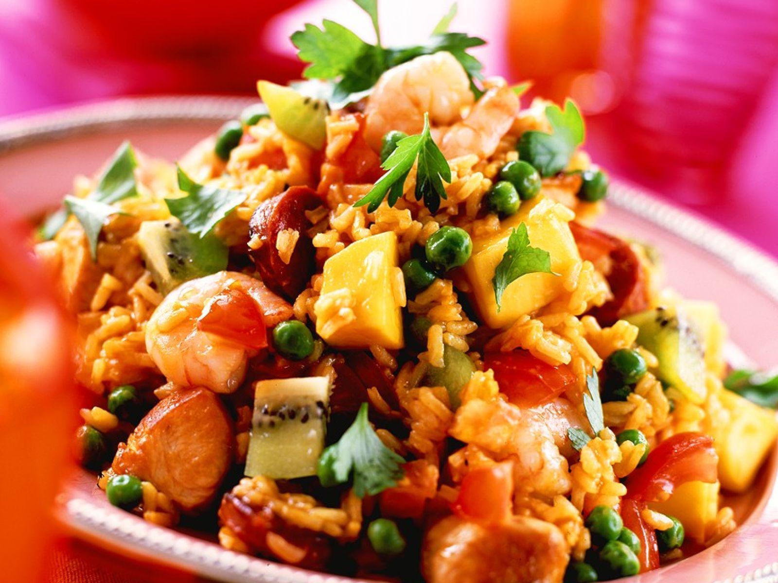 Turkey And Fruit Rice Salad Recipe Eat Smarter Usa