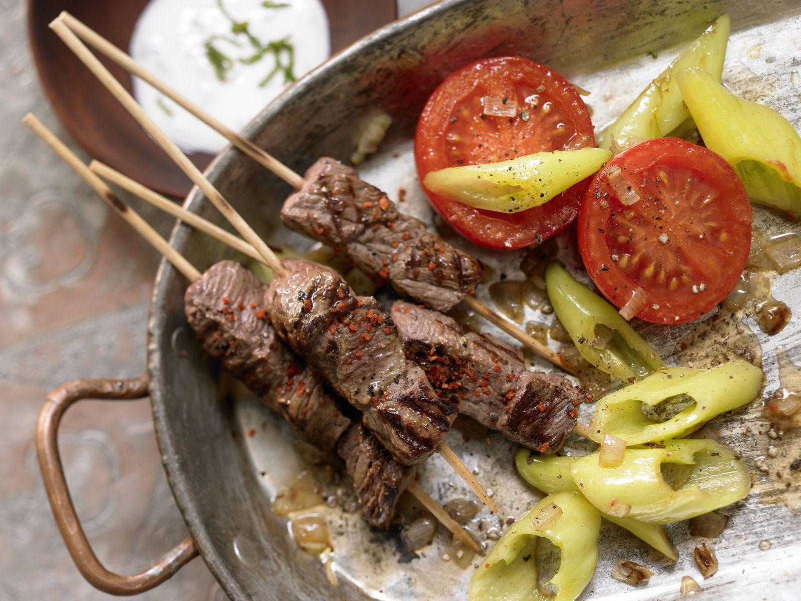 Turkish Beef Skewers Recipe Eat Smarter Usa Images, Photos, Reviews