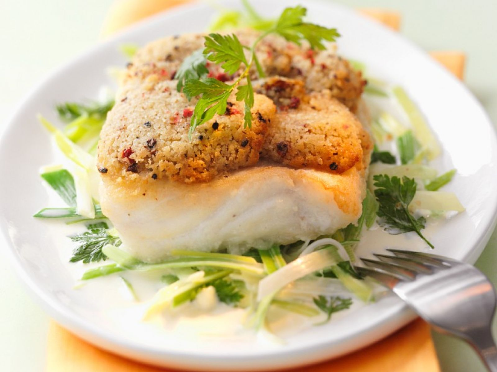 White Fish Fillet With Topping Recipe Eat Smarter Usa