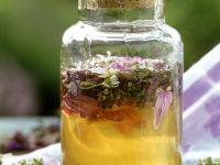 Acacia Honey with Edible Flowers recipe