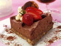 Airy Chocolate Slice recipe