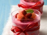 Airy Fruit Puddings recipe