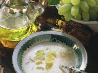 Almond and Grape Soup recipe