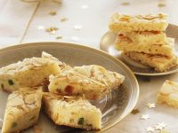 Almond Cookies with Dried Fruit recipe