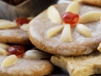 Almond Cookies with Icing recipe