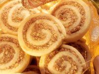 Almond Honey Pastry Rolls recipe