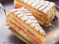 Almond Iced Gateau recipe