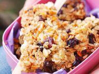 Almond Oatmeal Bars recipe